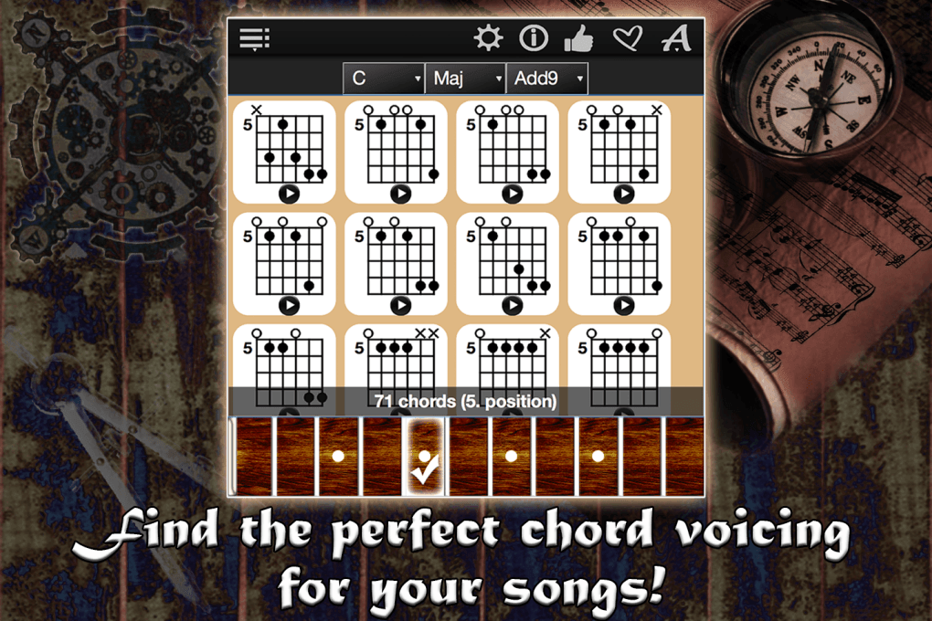 Guitar Chords Compass Images Neonway