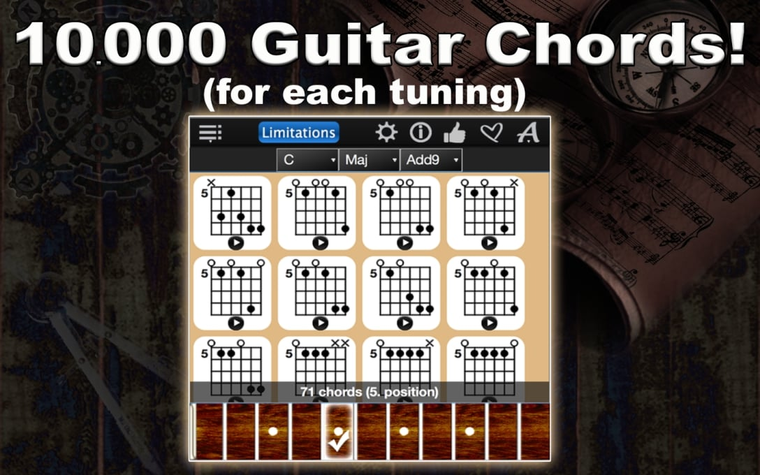 Guitar Chords Compass Lite Images Neonway