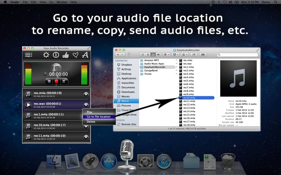 Free software for recording WAV files | Neonway